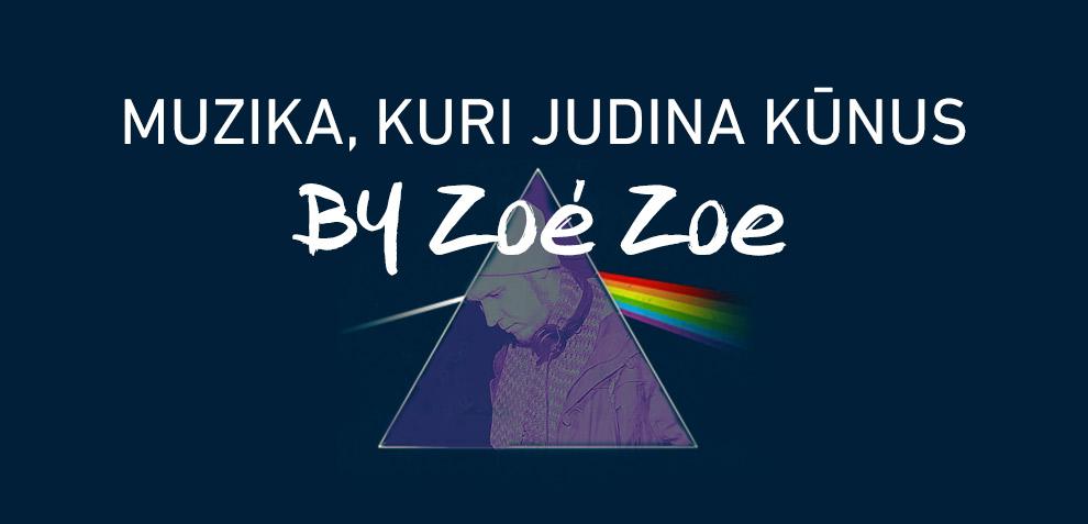 Muzika, kuri judina kūnus by Zoé Zoe