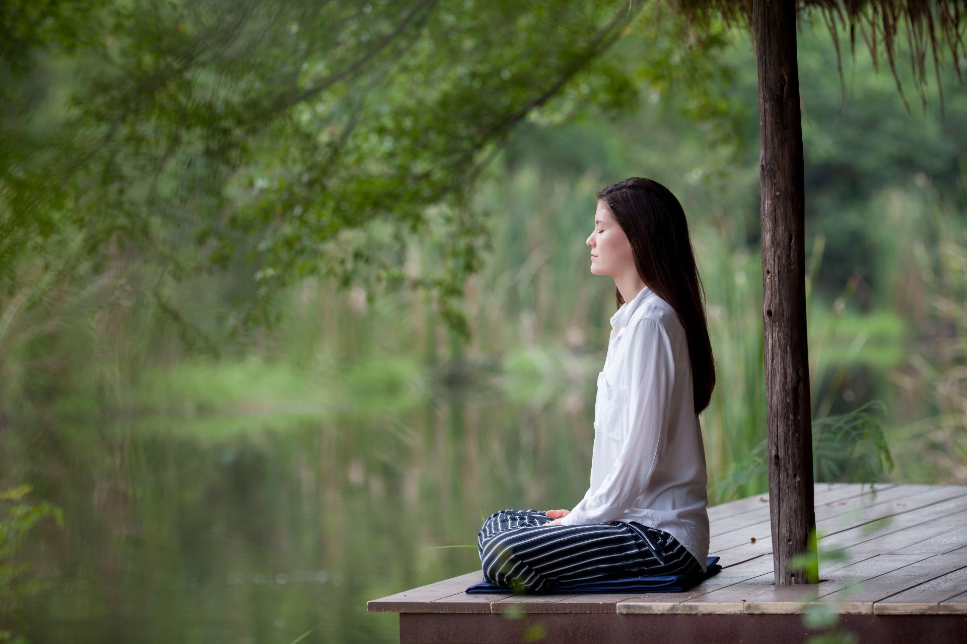 joga gamtoje