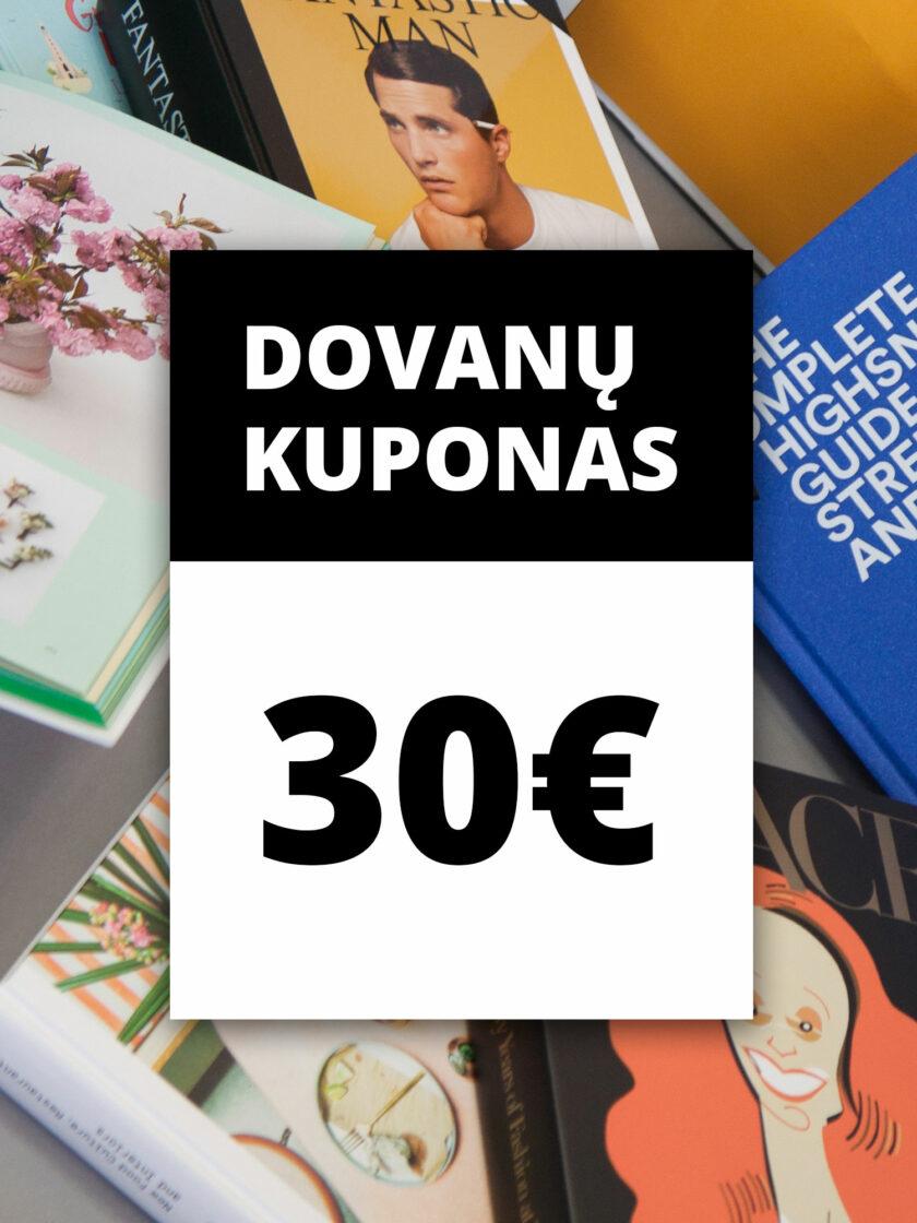 Dovanų kuponas 30 Eur