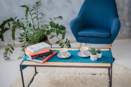 Coffee table books interjeras