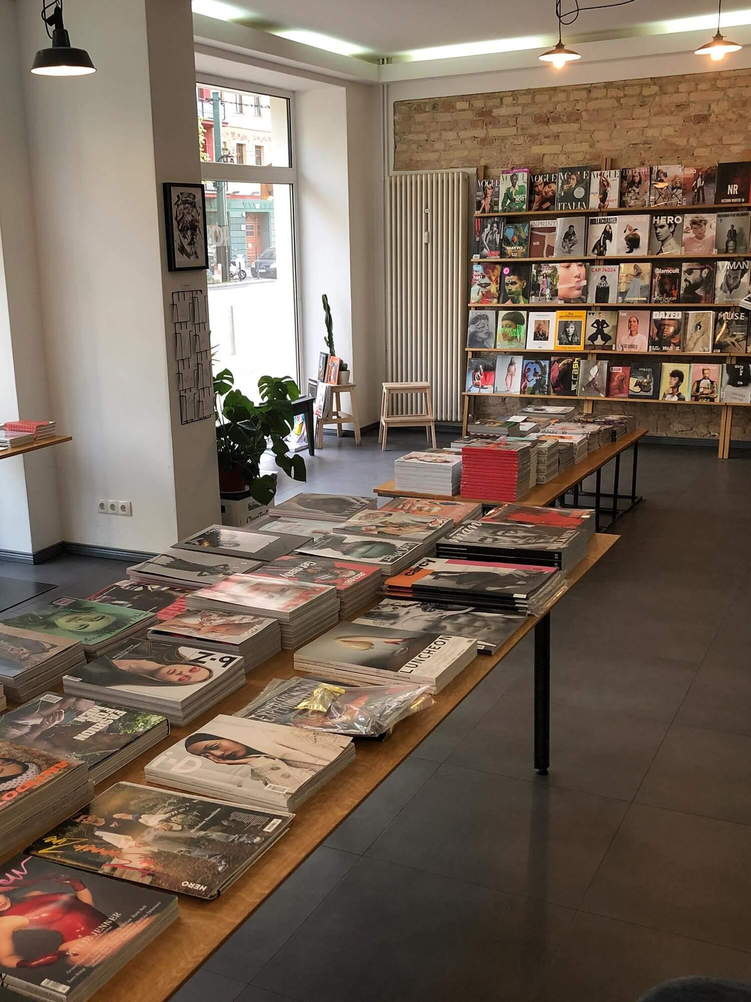 Žurnalų parduotuvė