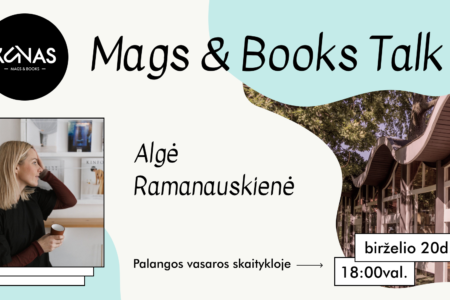 Mags and books event