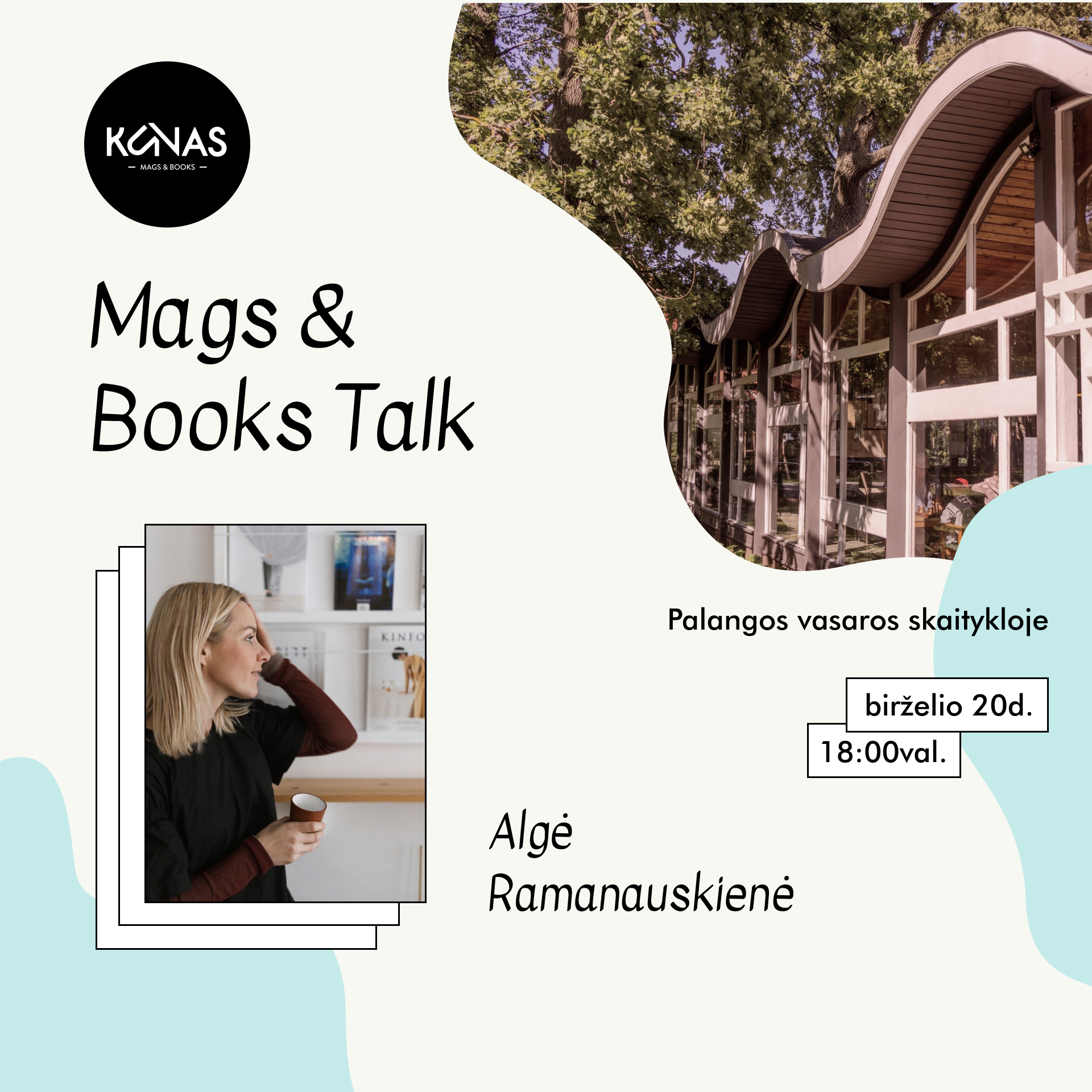Kūnas Mags & Books Palangoje!